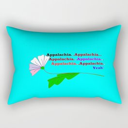 My Ode to Beautiful Appalachia! Rectangular Pillow