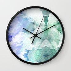 Flocculent Wall Clock