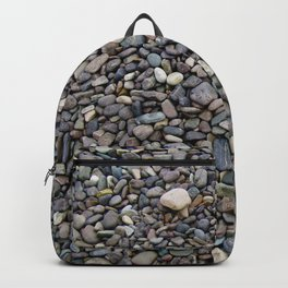 What Stories You Could Tell... Rocks of Jasper Beach Backpack