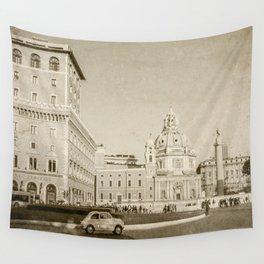 Eternal City (Plaza Venezia) Wall Tapestry