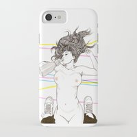 drink iPhone & iPod Cases featuring Let's drink! by Cisternas