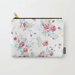 Heirloom Tea Rose Carry-All Pouch