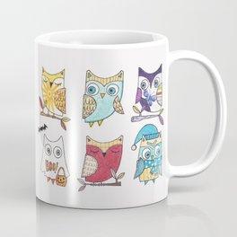 monthly owls Coffee Mug