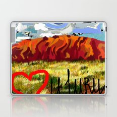 I love Uluru Laptop & iPad Skin
