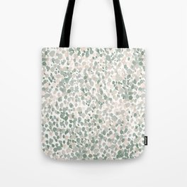 Lighthearted Flamingo Green Tote Bag