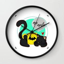 Ma Moitie (Jane + Maximoff) Wall Clock