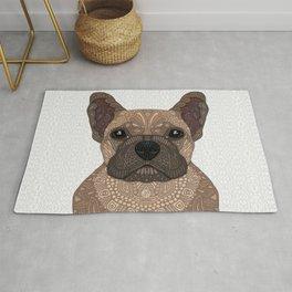 Fawn French Bulldog Rug