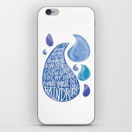Saltwater Heart. [Switchfoot] iPhone Skin