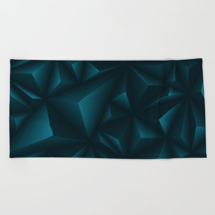 Polygonal Beach Towel