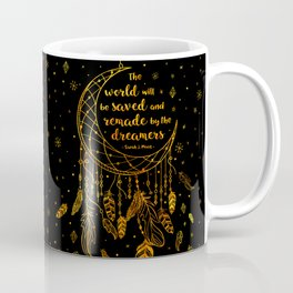 Saved and Remade - gold Coffee Mug