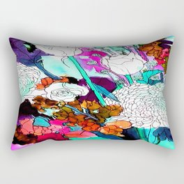 forest flowers 3 Rectangular Pillow