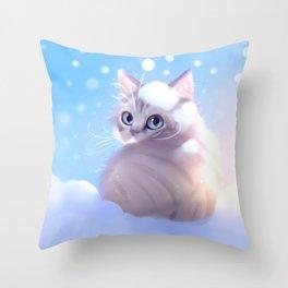 Early Birdy Throw Pillow