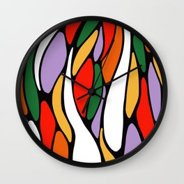 J'y arrive-Getting there- Serré. Wall Clock
