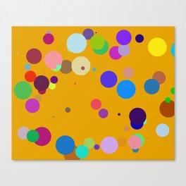 Circles #5 - 03102017 Canvas Print