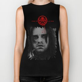 "Bucky Barnes ""The Winter Soldier"" Portrait Biker Tank"