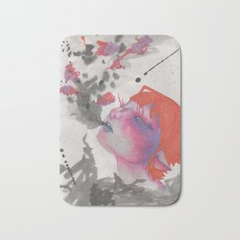 Smoke Strings Bath Mat