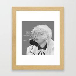 Charles Grey: Monochrome Framed Art Print