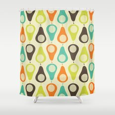 Oh What A Lovely Pear. Shower Curtain