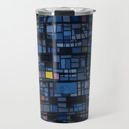 Stained glass water tower Travel Mug