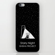 Starry Night by ISHISHA PROJECT iPhone & iPod Skin