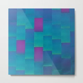 Chroma Flair Metal Print