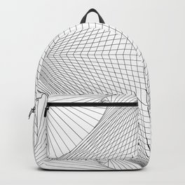 Abstract Square Backpack