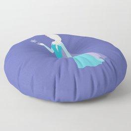 Elsa from Frozen Floor Pillow