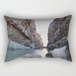 Santa Elena Canyon Rectangular Pillow
