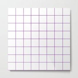 WINDOWPANE ((violet)) Metal Print