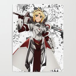 Fate Apocrypha Mordred Poster
