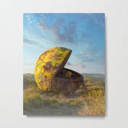 Pac-man Metal Print