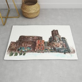 Canadian Malting Factory Rug