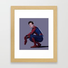 peter parker Framed Art Print
