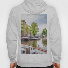 Canal in Amsterdam Hoody