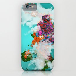 colorful island iPhone Case