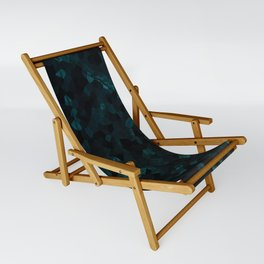 Stone Turquoise pattern Sling Chair