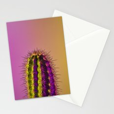 Neon Cactus Stationery Cards
