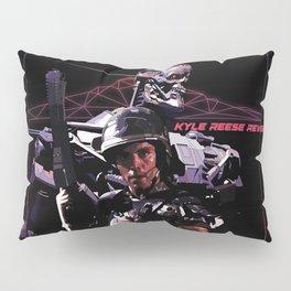 Kyle Reese Revenge Aliens Terminator 80s synthwave Pillow Sham