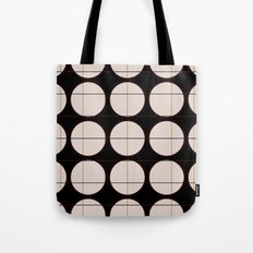 circle - grid Tote Bag
