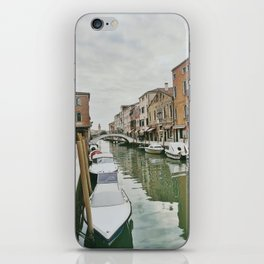 Canals of Venice IV iPhone Skin