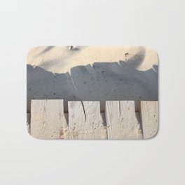board walk / closeup Bath Mat