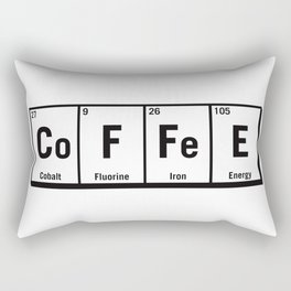 c.o.f.f.e.e Rectangular Pillow
