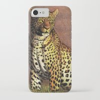 panther iPhone & iPod Cases featuring Panther by Savousepate