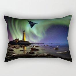 Auroral Splendour For The Vulcan Rectangular Pillow