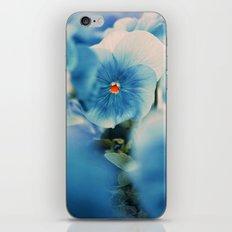 the blue beauty iPhone & iPod Skin