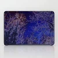 psychadelic iPad Cases featuring Psychadelic trees frame the moon by Cheryl - DevilBear Photography