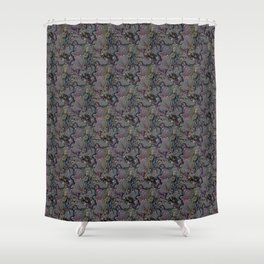 Brocade Shower Curtain