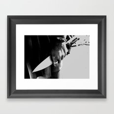 Whiteout: Intention To Kill Framed Art Print