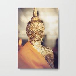 Buddha the other side  Metal Print