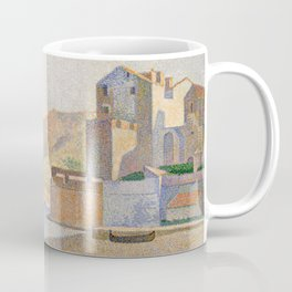 The Town Beach, Collioure, opus 165 Coffee Mug